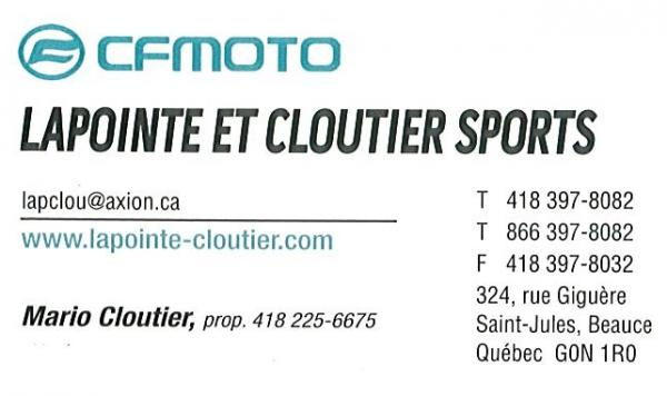 Lapointe et Cloutier Sports inc.